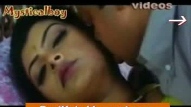 desi sexy sexy shalini in yellow saree romancing by lifting saree