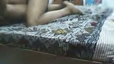 South Indian Couple Nude On Bed Fucking in Missionary Style Mms