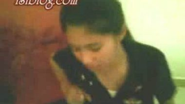 Manipuri girl playing with her lover's dick