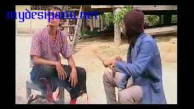 Nepali actress Prakash Ojha leaked scandal mms clip