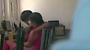 Desi hidden cam foreplay at office with colleague