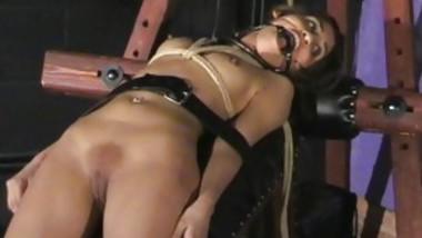 Teen Slut Sahara Knite Gets Tied Up And Gagged