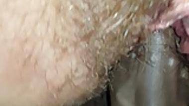 Hairy Irish Slut PAWG fucked by hard Indian dick
