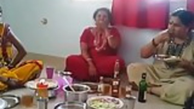 Village Aunties Drinking Wine and See hers Behaviour....