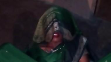 Sexy silk saree