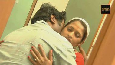 Indian aunty home sex clip with devar