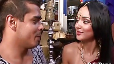Indian Pornstar With Her Boyfriend Sucking Fucking In HD Por