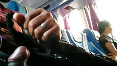 Flashing in bus India