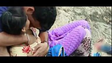 Hot Tamil village girl romancing with her lover