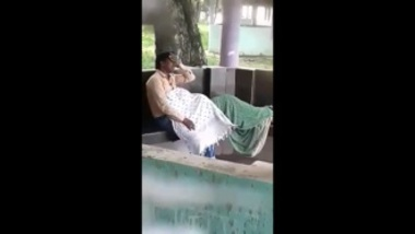 Sexy Boudi Sucking Penis In Public