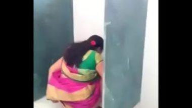 Desi Sexy Teacher Caught In Men Toilet