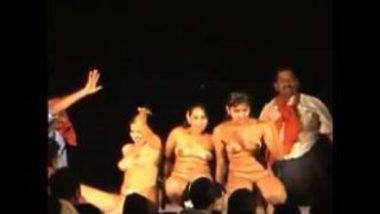 Nude Chicks In Telugu Record Dance