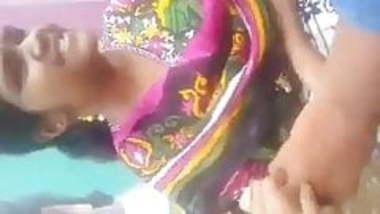 tamil girl outdoor boobs press