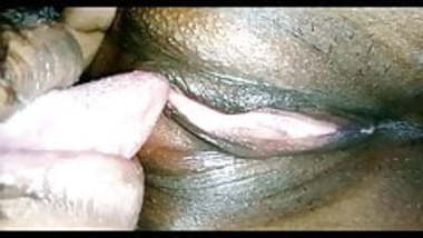 Desi wife clean shaved pussy licked by hubby