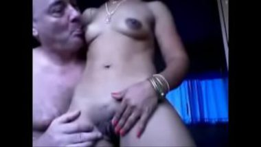 Sexy Desi Wife Enjoyed By Mature White Guy