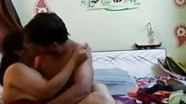 Hindu bhabi with muslim boyfriend in a hotel room