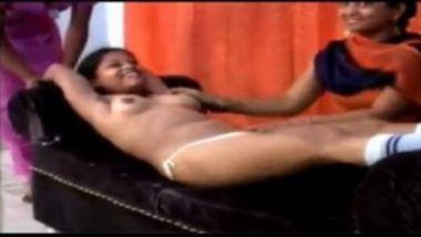 Nude indian hostel girl fun with roommates