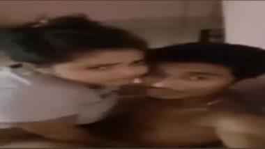 Young desi teen cock riding during selfie sex