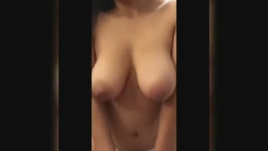 Birthday with my beautiful girlfriend in hotel room fuck hardcore sexy boob