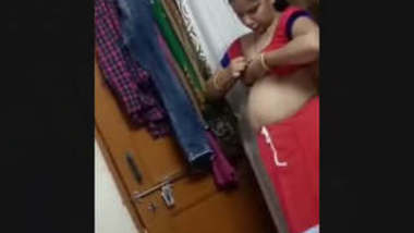 Desi Bhabi After Fuck wearing