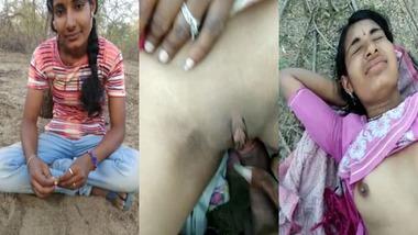 Innocent Indian village girl fucked in jungle
