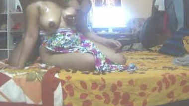 Indian Desi ancle play with aunty