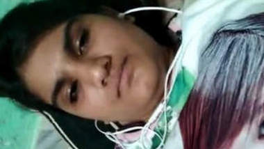 Indian Girl Showing Her Boobs and Ass on Video Call