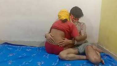 Horny Indian Wife Fucked By Husband best friend In Doggy Style