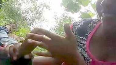 Desi lover outddor romance n fucking video