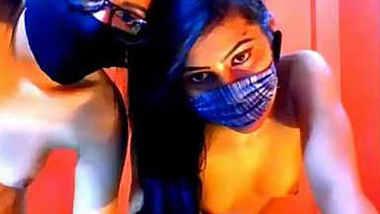 Two desi sexy girls webcam show