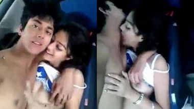 Lovers sex scandal inside Car Leaked mms with audio