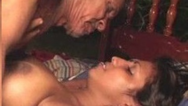 Horny Indian aged man fucks a Young Indian girl