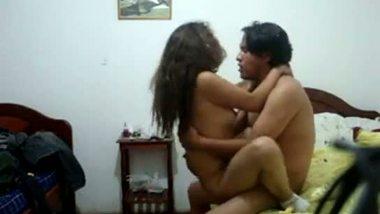 Hidden cam sex video Indian slim girlfriend hardcore sex