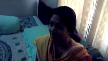 Bengali aunty home sex with husband's friend caught on cam