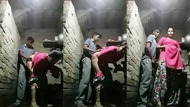 Desi aunty Doggy style XXX hard sex with a neighbor guy