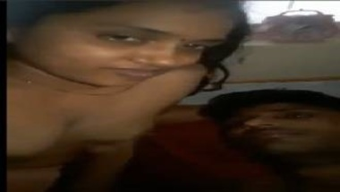 South Indian Wife's Porn MMS With Devar