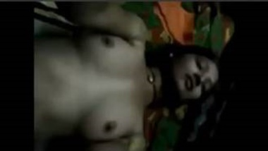 Hot Bengali Village Girl Enjoying Boobs Massage
