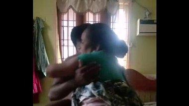 Desi village aunty riding her nephew's dick