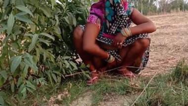 Desi village wife fucking in field