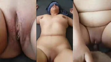 Natural XXX tits of Indian woman bounce during chudai with husband