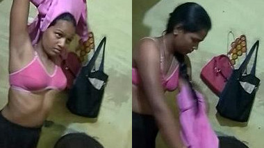 Husband unceremoniously films his Indian wife for his porn collection