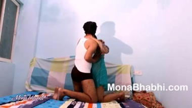Huge Butt Indian Bhabhi Mona Fucked Hard By Her...