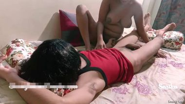 Desi girlfriend makes her XXX lover horny by blowing his long dick