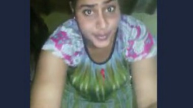 Very cute village bhabi showing her big boobs on mobile cam
