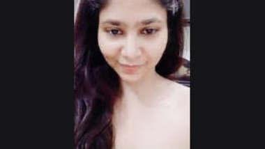 Indian Cute girl showing